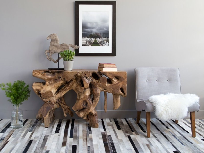 Modern Console table in Winnipeg at Design Manitoba