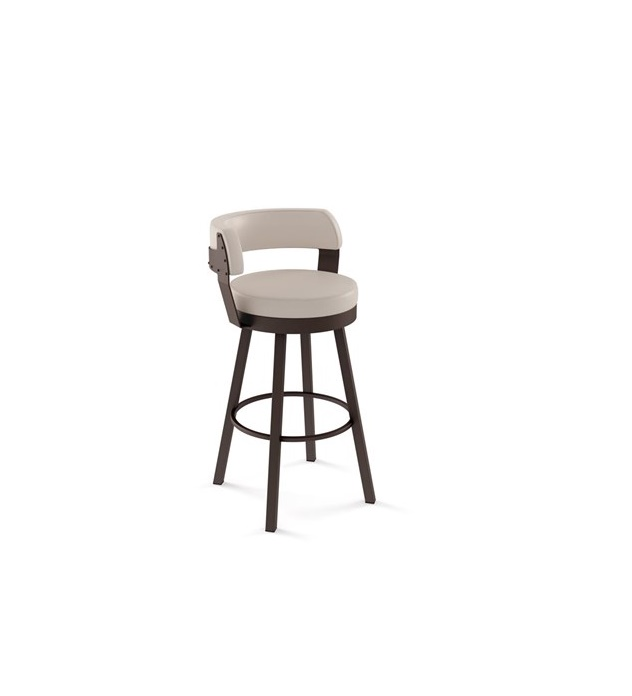Russell Swivel Stool By Amisco